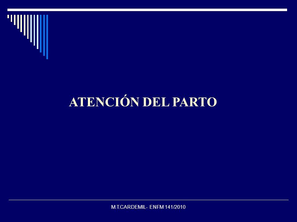 ATENCIÓN DEL PARTO M.T.CARDEMIL- ENFM 141/2010