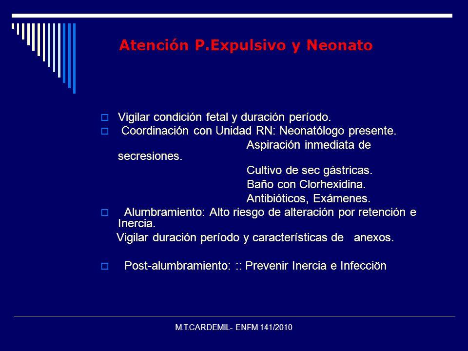 Atención P.Expulsivo y Neonato