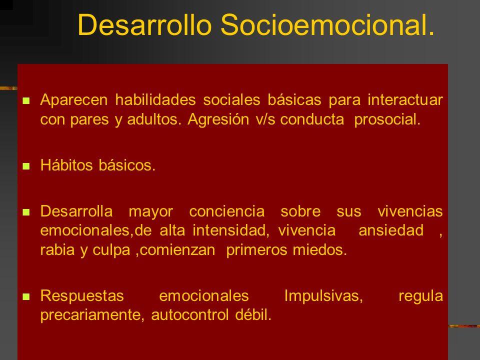 Desarrollo Socioemocional.
