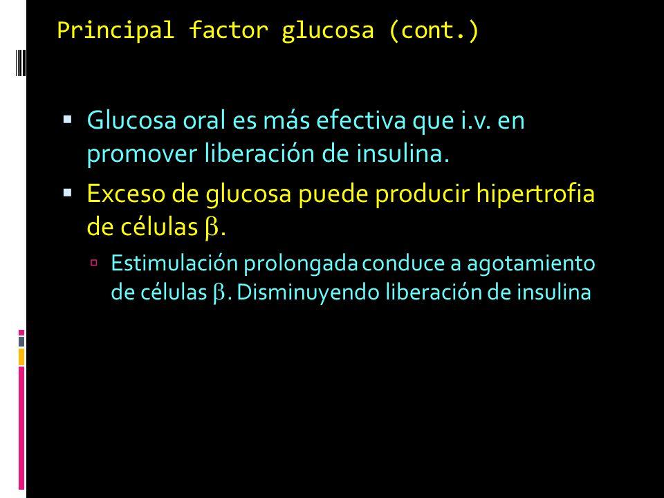 Principal factor glucosa (cont.)