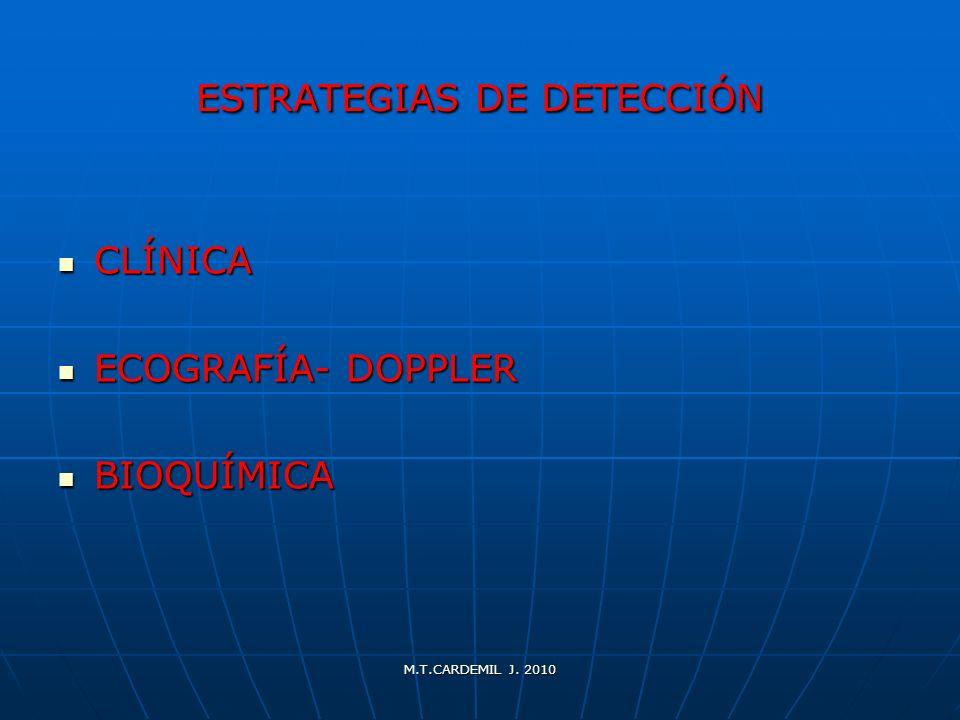 ESTRATEGIAS DE DETECCIÓN
