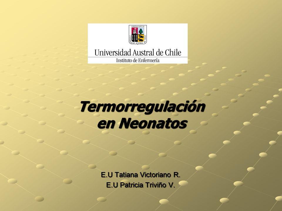 Termorregulación en Neonatos
