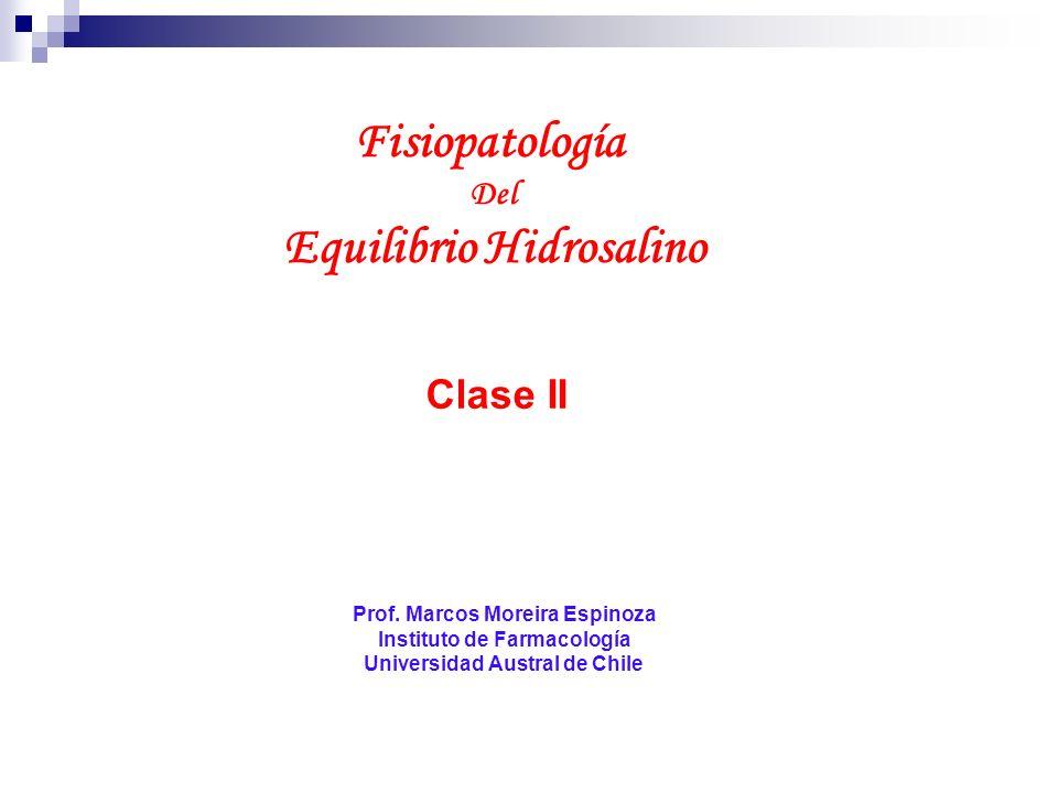 Fisiopatología Equilibrio Hidrosalino