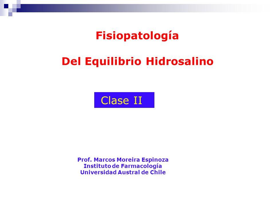 Fisiopatología Del Equilibrio Hidrosalino