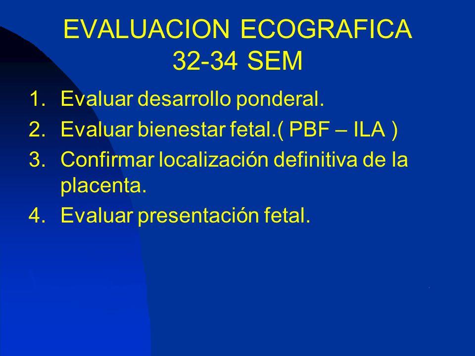 EVALUACION ECOGRAFICA 32-34 SEM