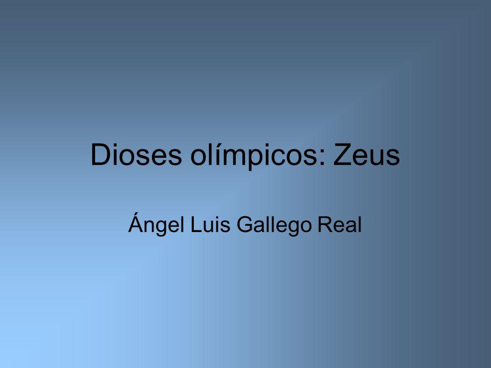 Dioses olímpicos: Zeus