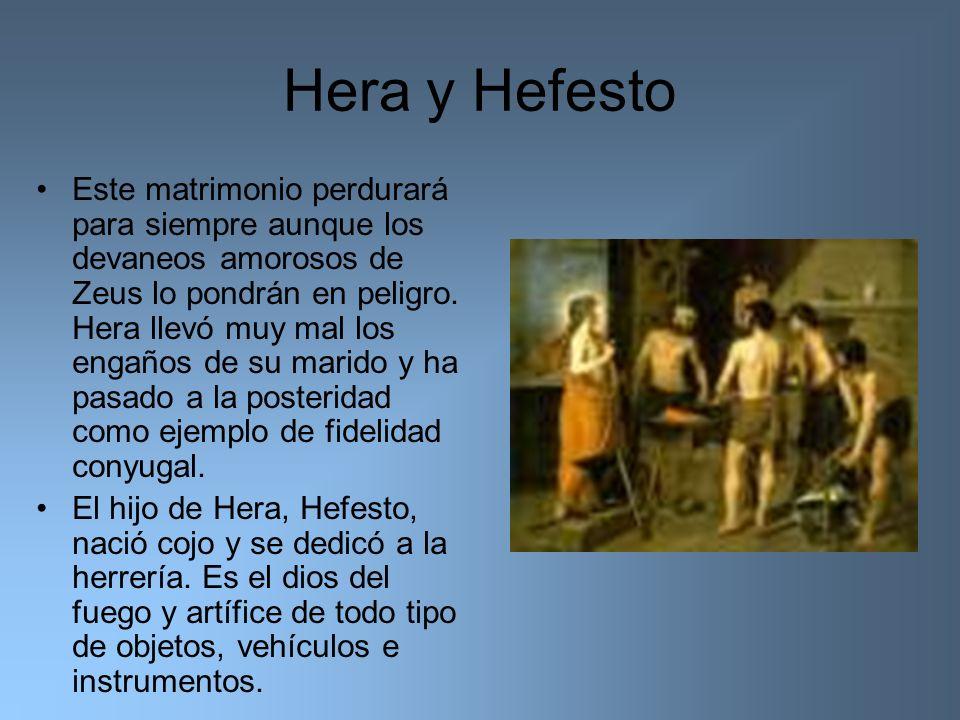 Hera y Hefesto