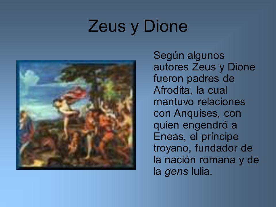 Zeus y Dione