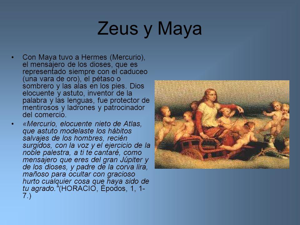 Zeus y Maya