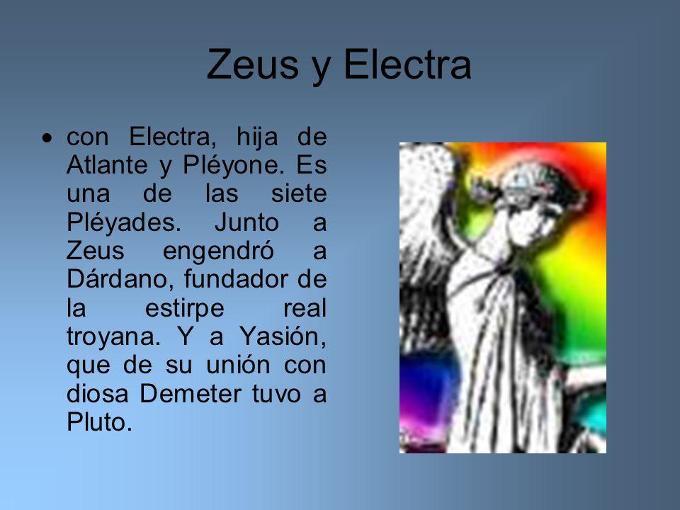 Zeus y Electra