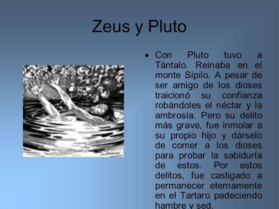 Zeus y Pluto