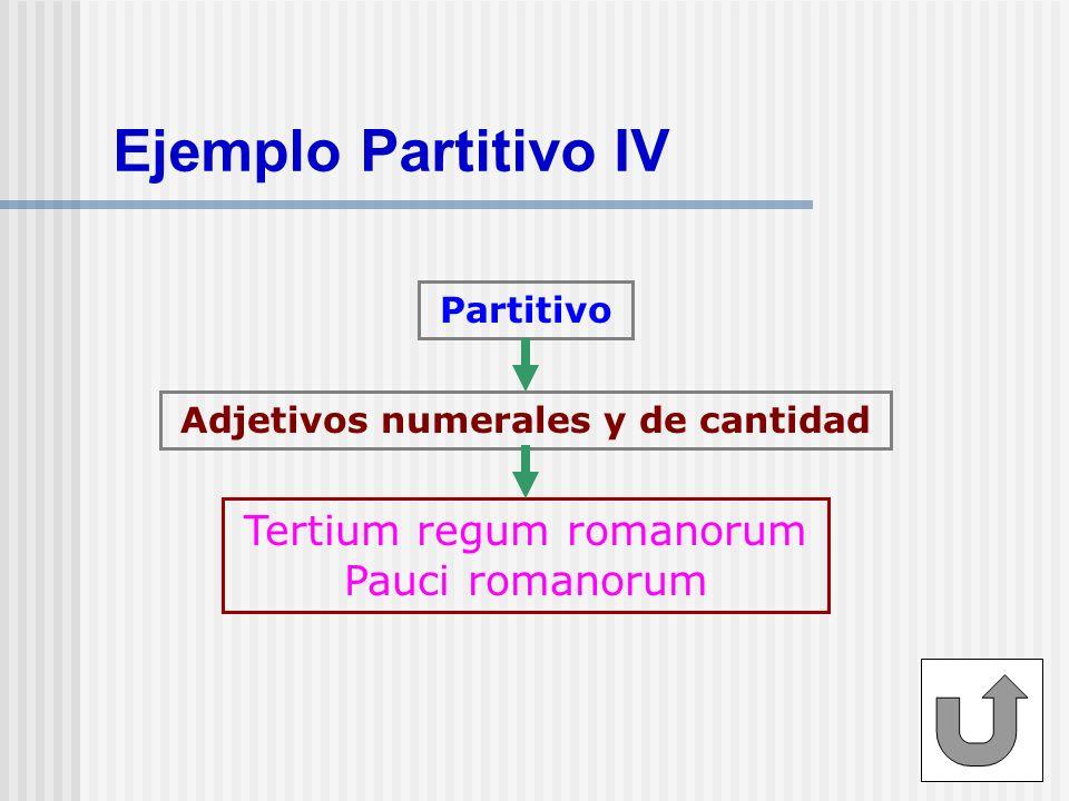 Adjetivos numerales y de cantidad