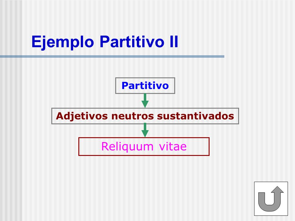 Adjetivos neutros sustantivados