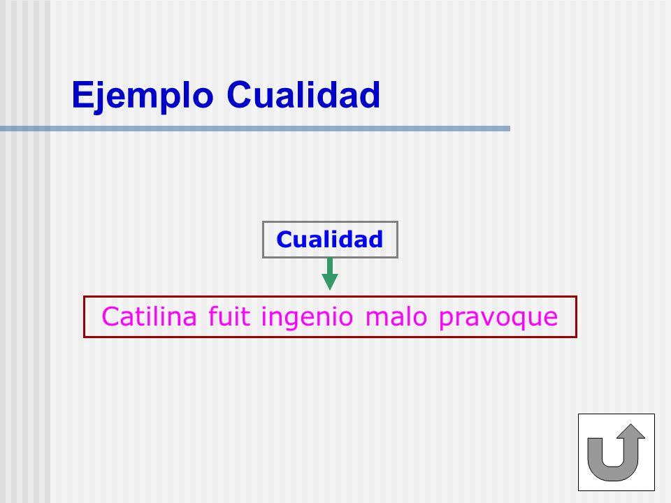 Catilina fuit ingenio malo pravoque