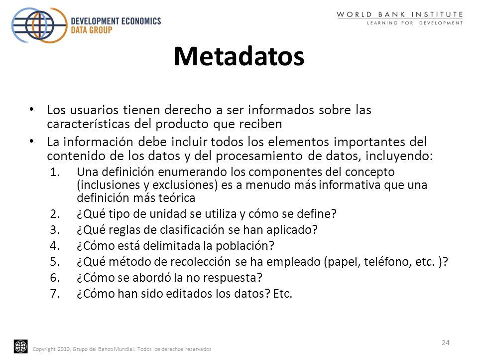 MetadatosLos usuarios tienen derecho a ser informados sobre las características del producto que reciben.