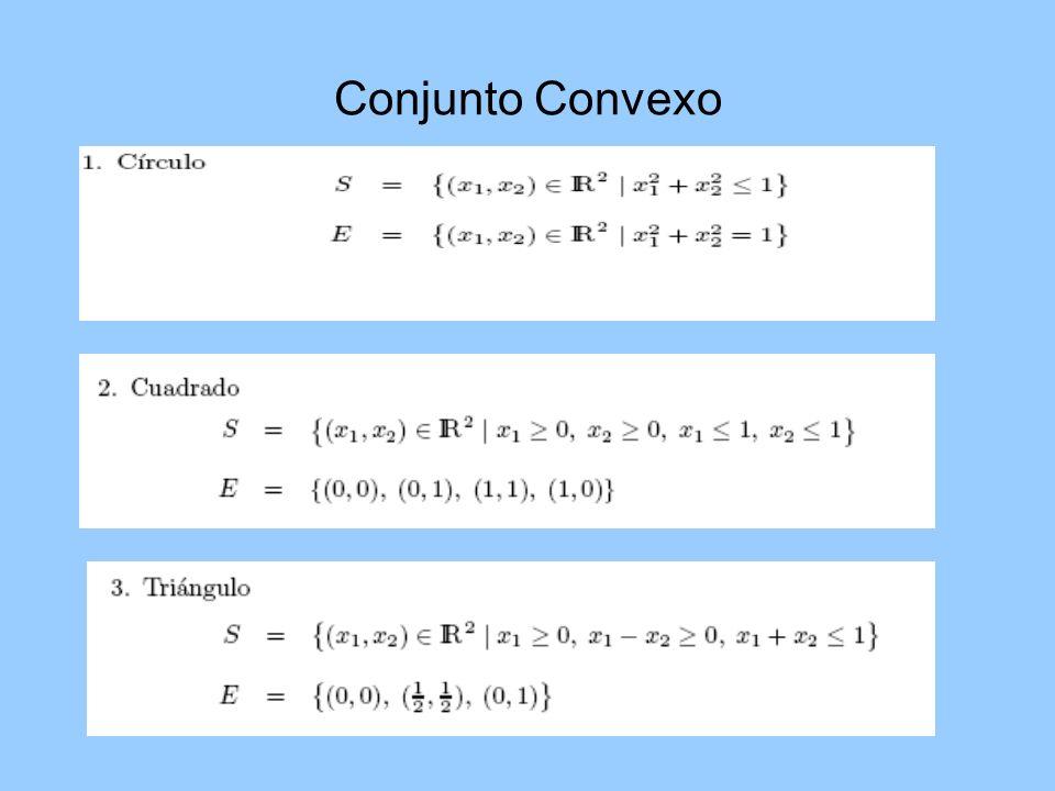 Conjunto Convexo