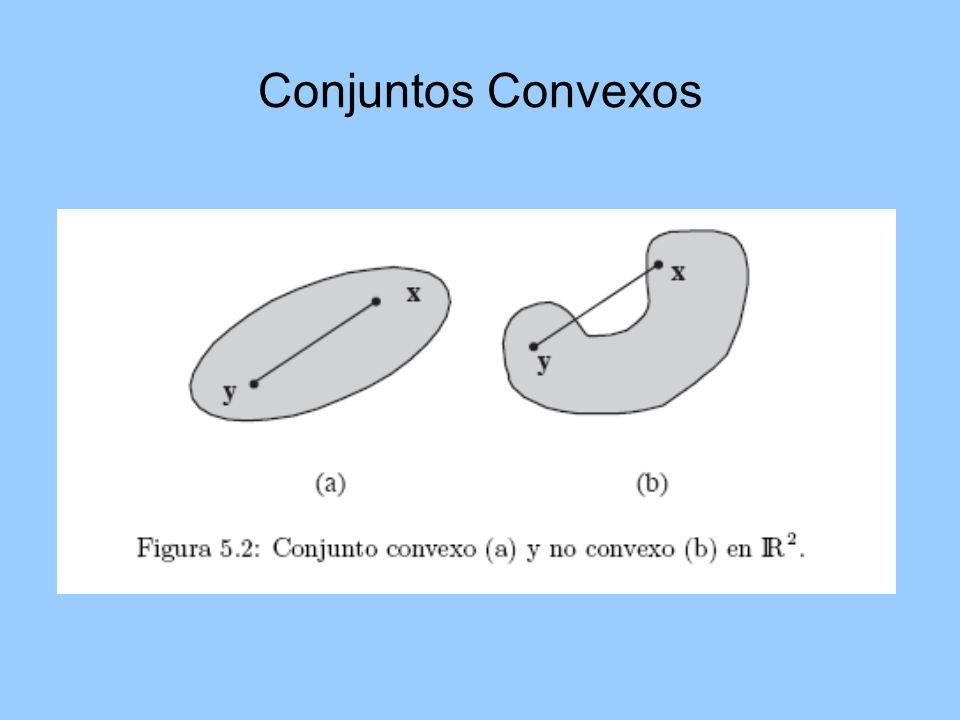 Conjuntos Convexos
