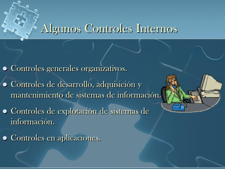Algunos Controles Internos