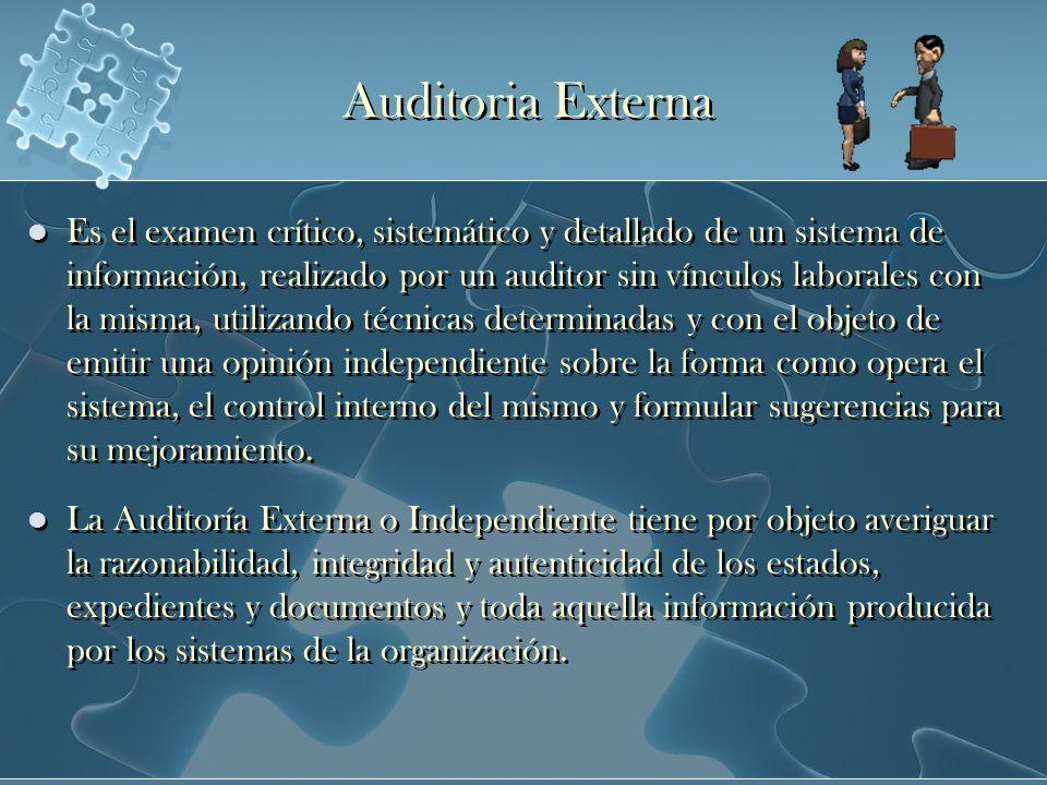 Auditoria Externa