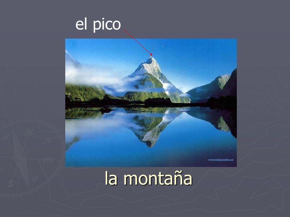 el pico la montaña