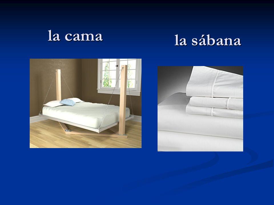 la cama la sábana