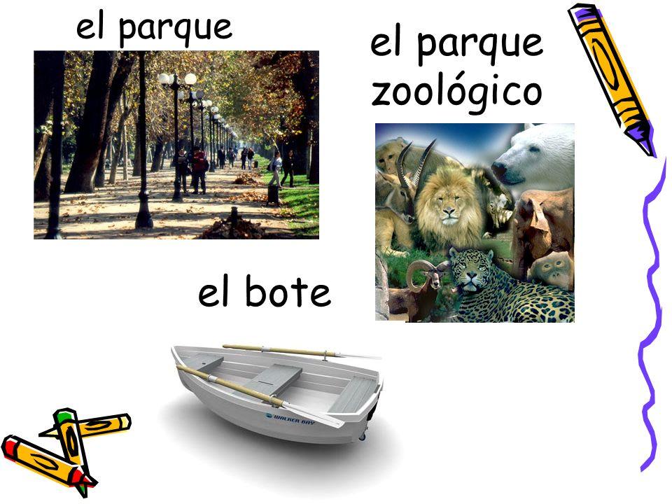 el parque zoológico el parque el bote
