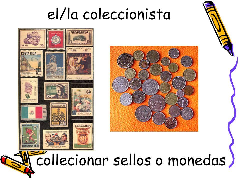 collecionar sellos o monedas