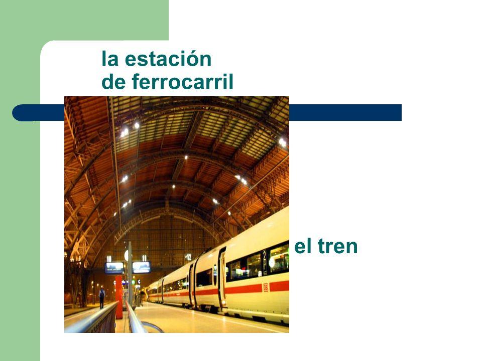 la estación de ferrocarril