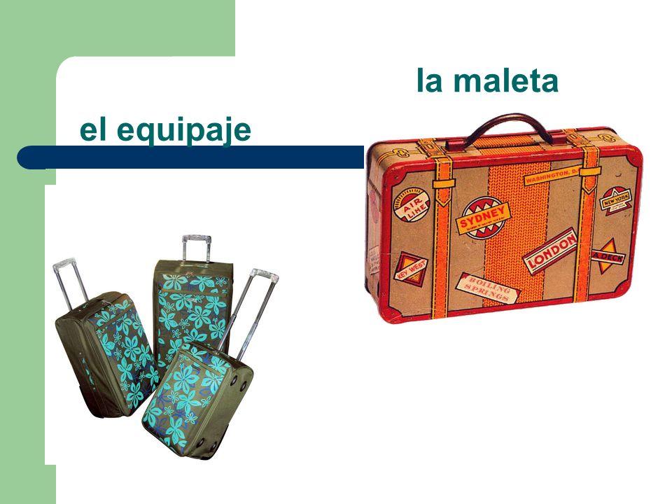 la maleta el equipaje
