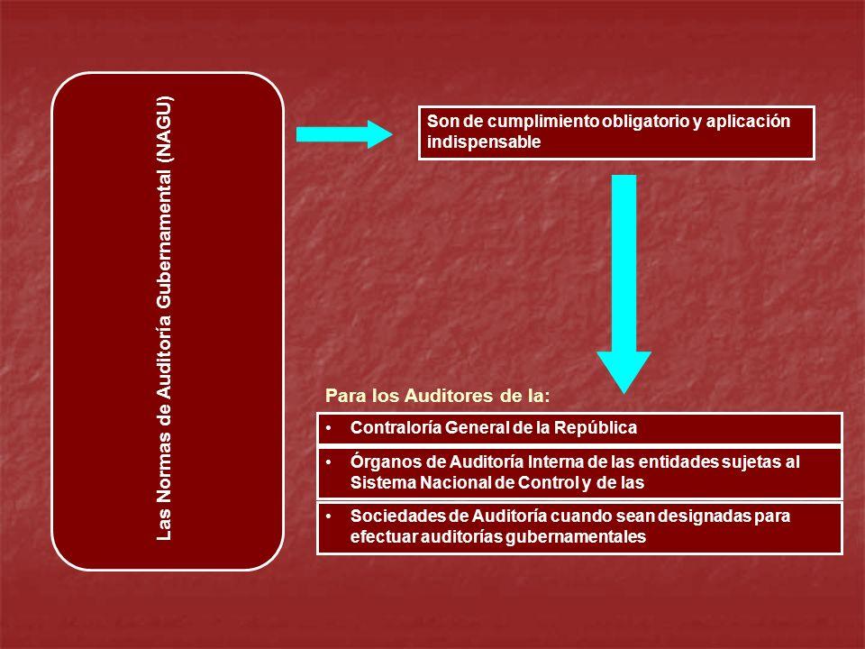 Las Normas de Auditoría Gubernamental (NAGU)