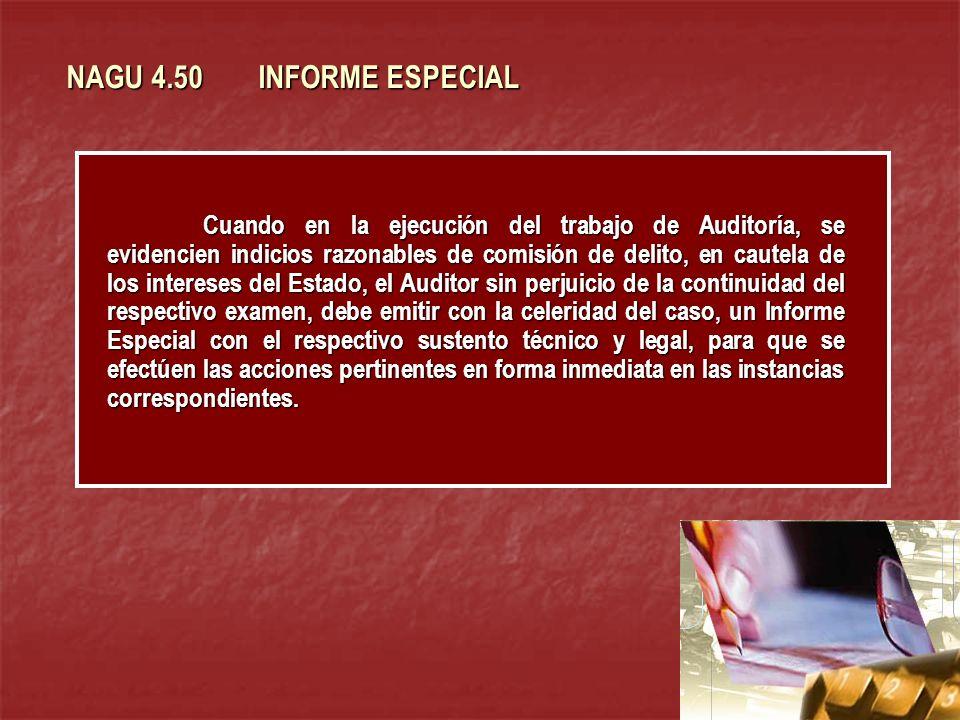 NAGU 4.50 INFORME ESPECIAL