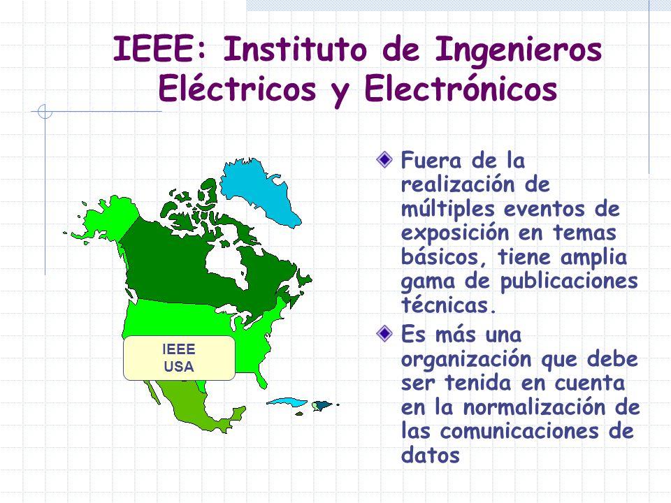 IEEE: Instituto de Ingenieros Eléctricos y Electrónicos