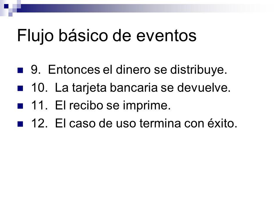 Flujo básico de eventos