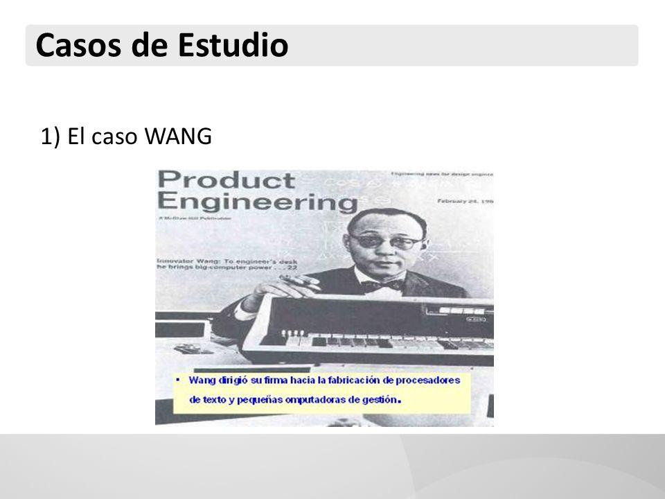 Casos de Estudio 1) El caso WANG