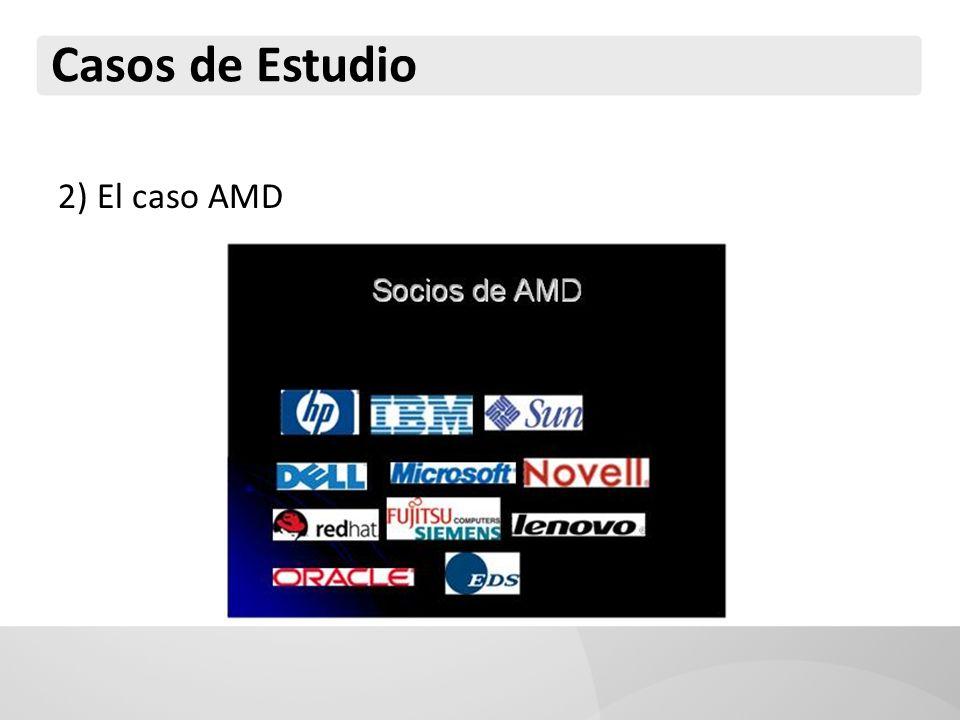 Casos de Estudio 2) El caso AMD