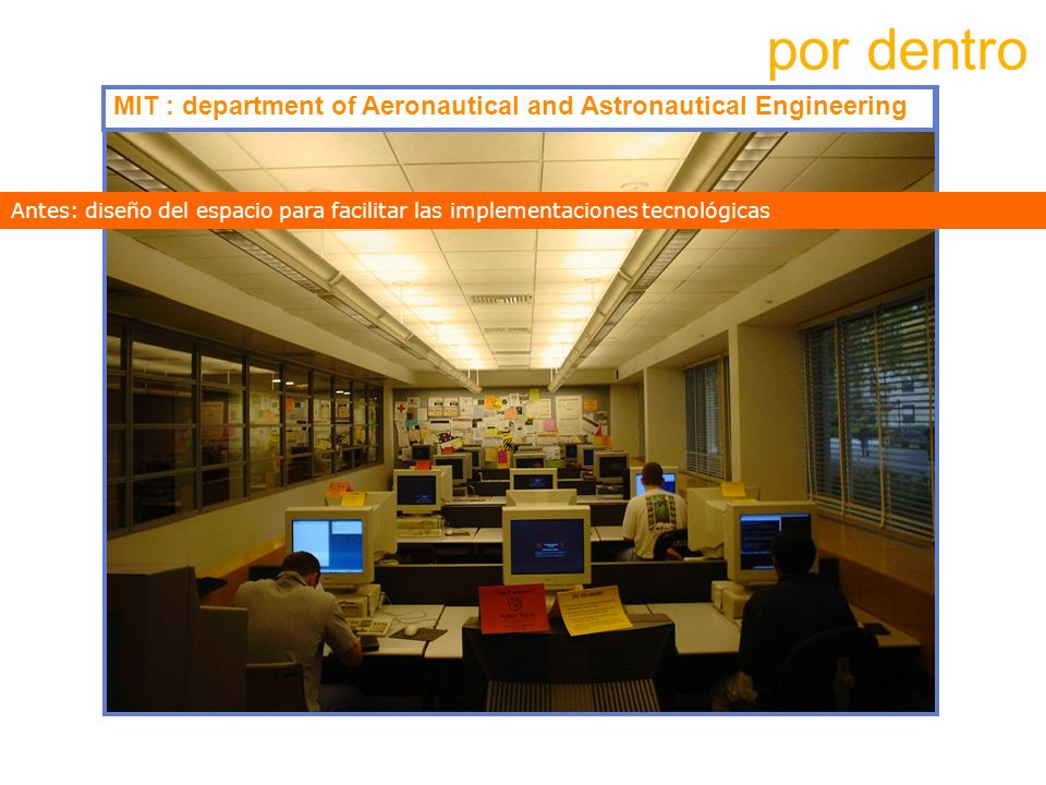 por dentro MIT : department of Aeronautical and Astronautical Engineering.