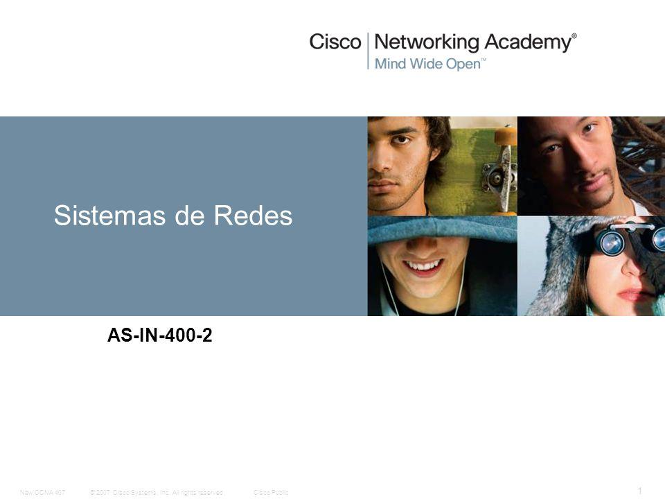 Sistemas de Redes AS-IN-400-2