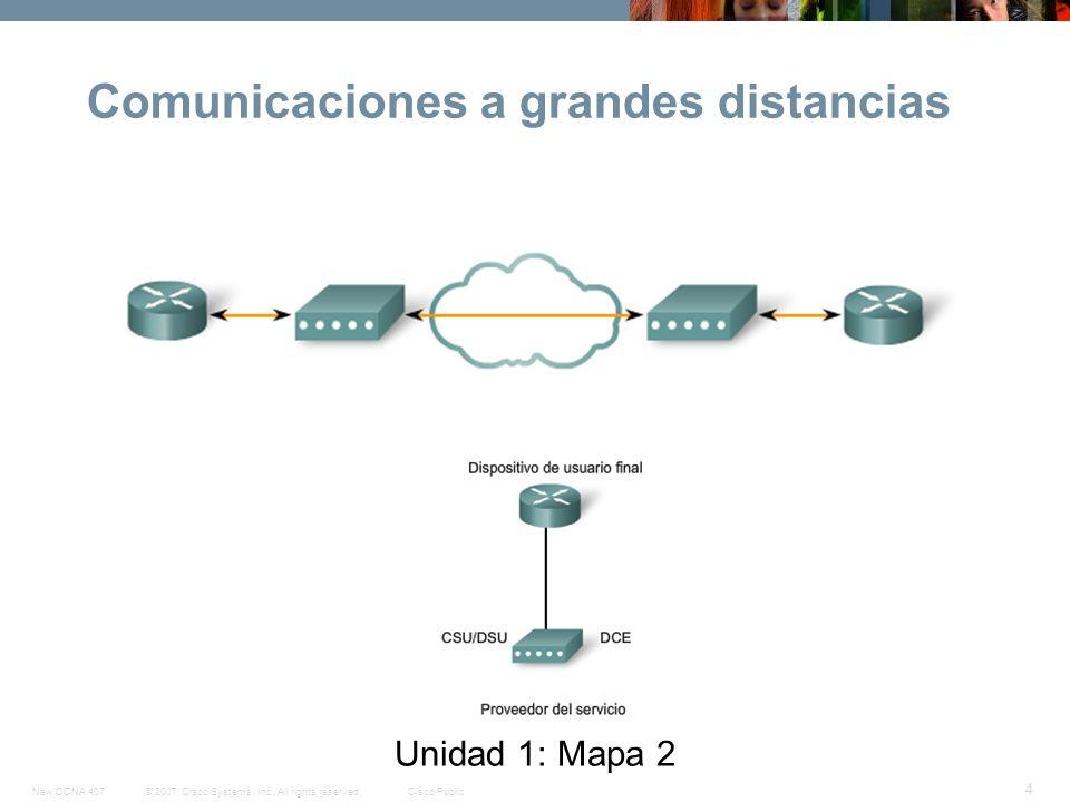 Comunicaciones a grandes distancias