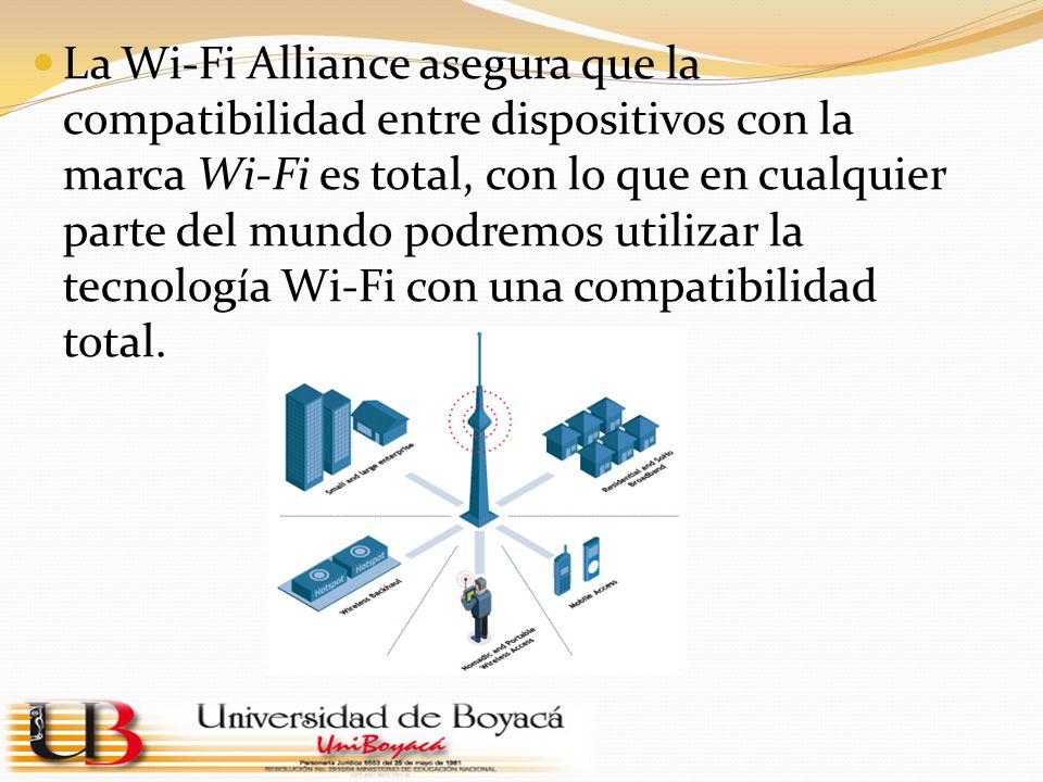 La Wi-Fi Alliance asegura que la compatibilidad entre dispositivos con la marca Wi-Fi es total, con lo que en cualquier parte del mundo podremos utilizar la tecnología Wi-Fi con una compatibilidad total.