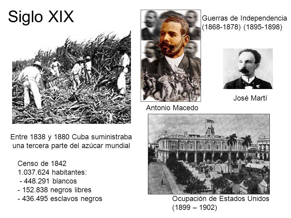 Siglo XIX Guerras de Independencia (1868-1878) (1895-1898) José Martí