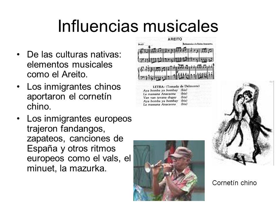 Influencias musicales