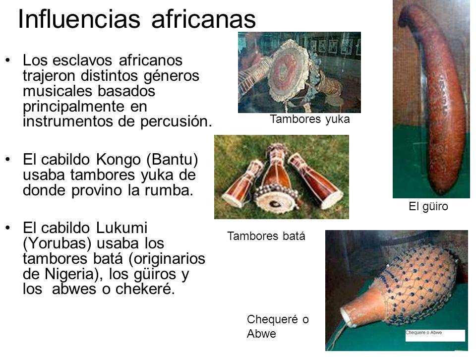 Influencias africanas