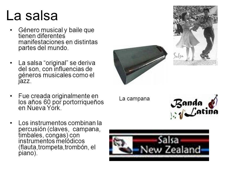 La salsa Género musical y baile que tienen diferentes manifestaciones en distintas partes del mundo.