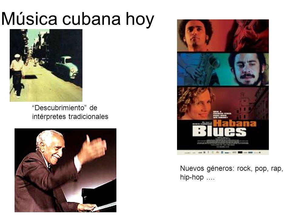 Música cubana hoy Descubrimiento de intérpretes tradicionales