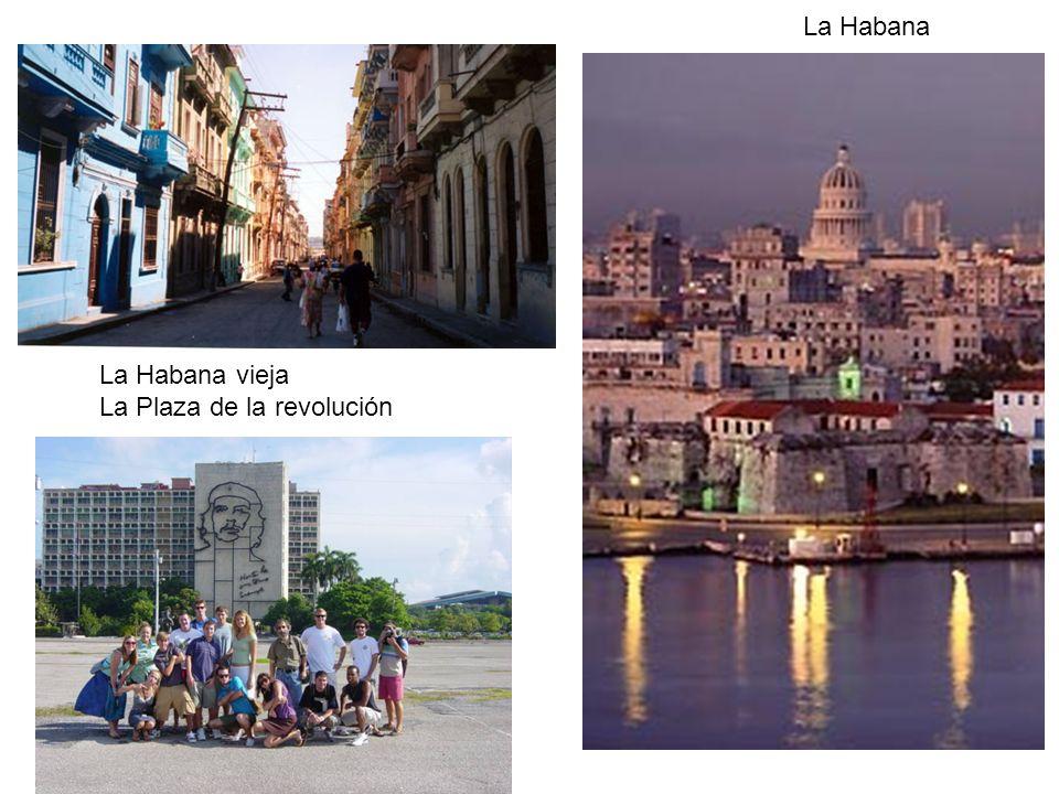 La Habana La Habana vieja La Plaza de la revolución