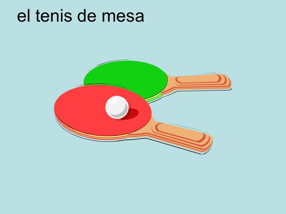 el tenis de mesa
