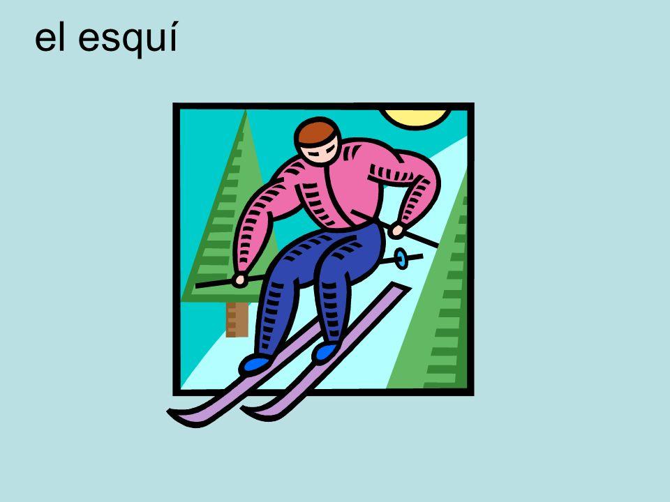 el esquí