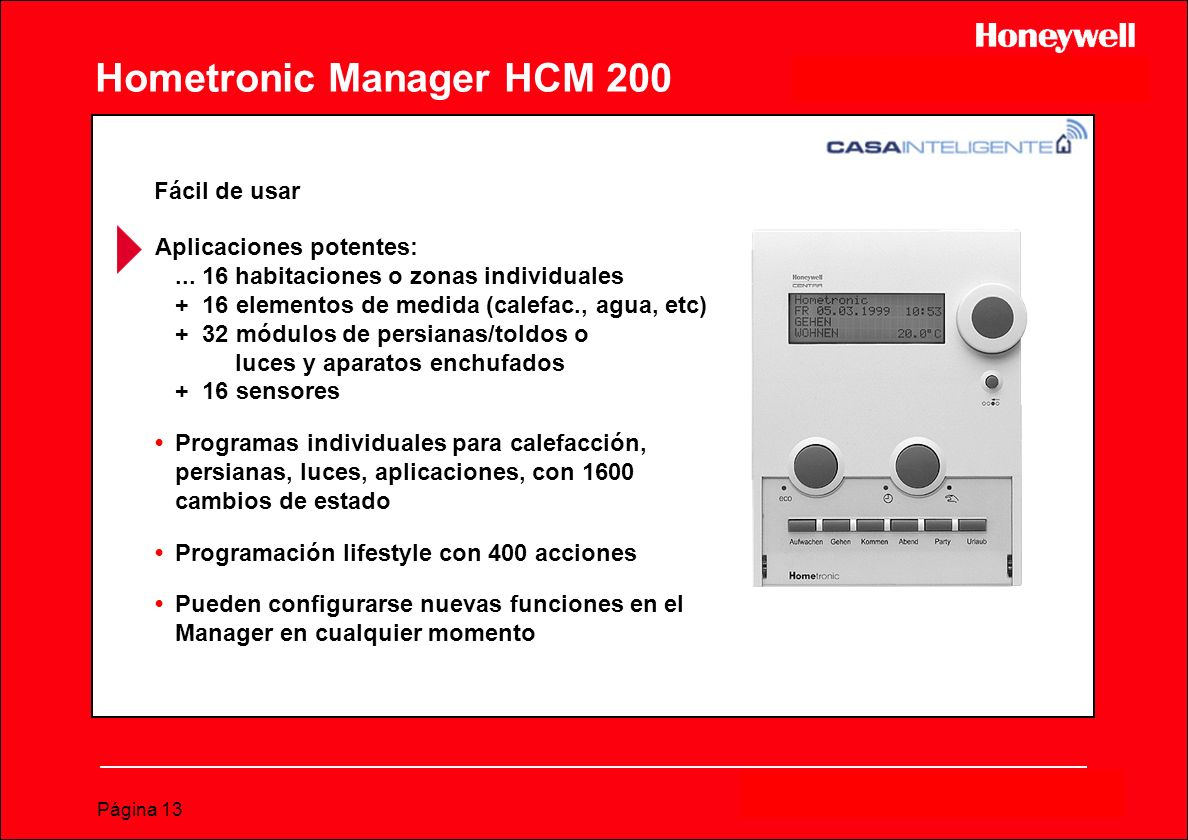 Hometronic Manager HCM 200
