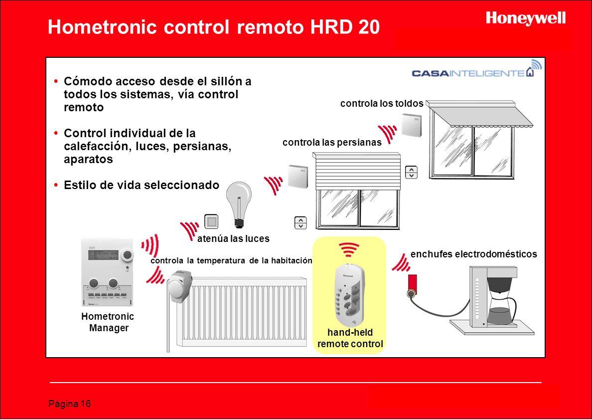 Hometronic control remoto HRD 20