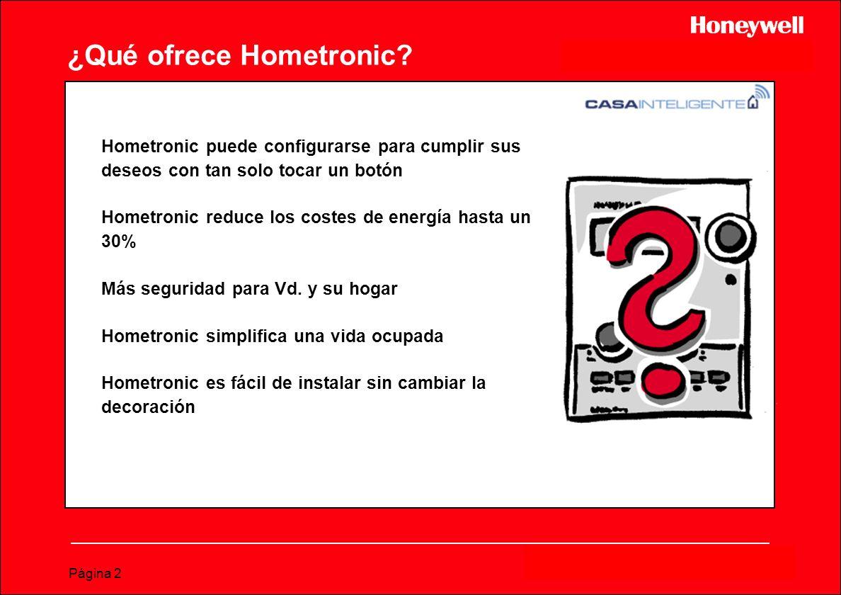 ¿Qué ofrece Hometronic